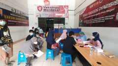 Sudah 11.000 penerima vaksin dicapai Gerai Satpas SIM 1221 Pasar Depok
